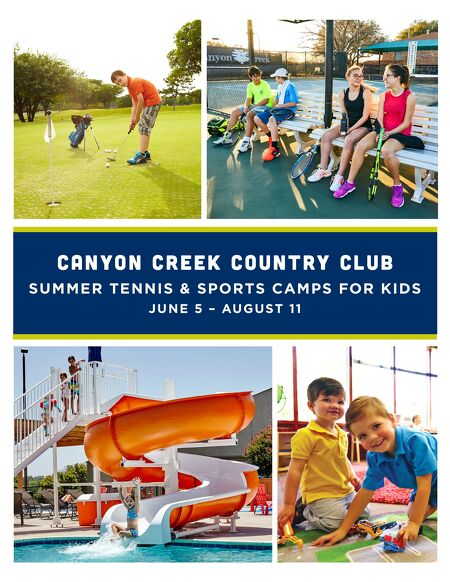 jr summer camps canyon creek country club