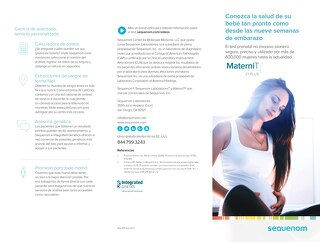 Spanish MaterniT 21 PLUS core patient brochure_Rep-1053-v1-0217