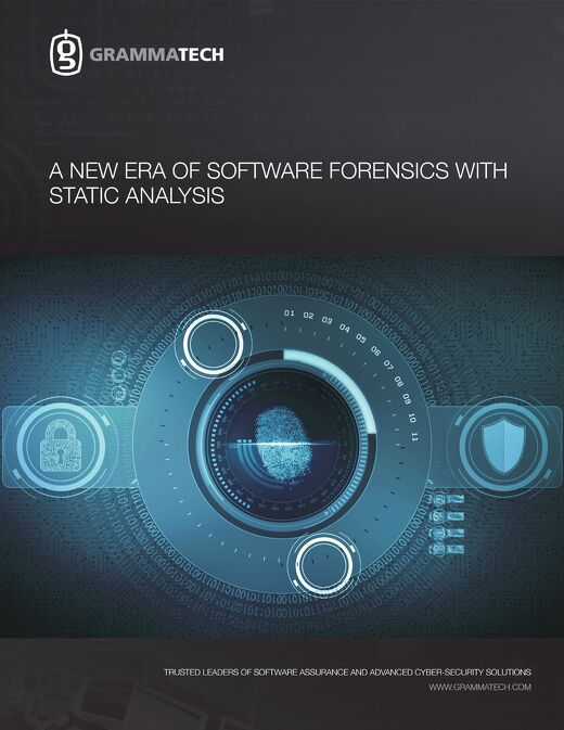 A New Era of Software Forensics with Static Analysis