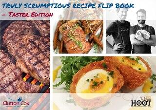 Truly Scrumptious Recipe Flip Book - Taster Edition