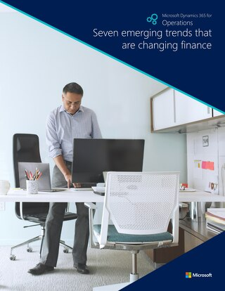 7 emerging trends that are changing finance
