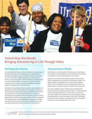 United Way Worldwide - Skyword Case Study