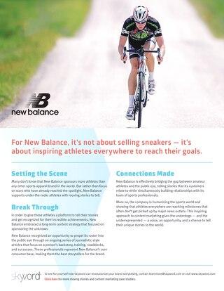 New Balance - Skyword Case Study