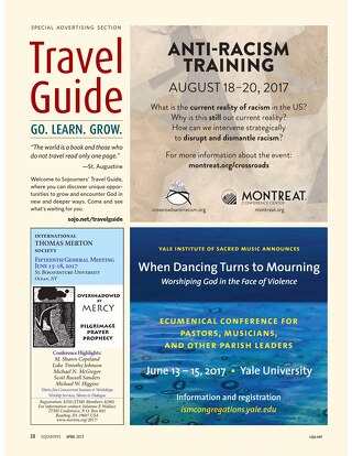 Sojourners Travel Guide 2017