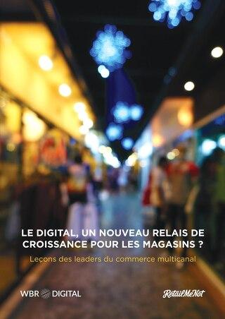 Le Digital, un nouveau relais de croissance pour les magasins