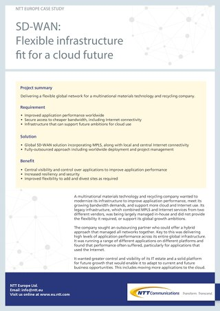 Case Study  Telefonica UK Powers Flexible  Hybrid Cloud Environments     Bank BNP Paribas opensnew flexible benefits windows when it runs related  events