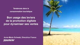 Bon usage des leviers de la promotion digitale dans la consommation touristique