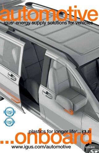 Automotive energy chain solutions