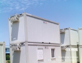 Container Homes manufactured in China