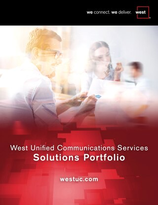 West Unified Communications Services Solutions Portfolio
