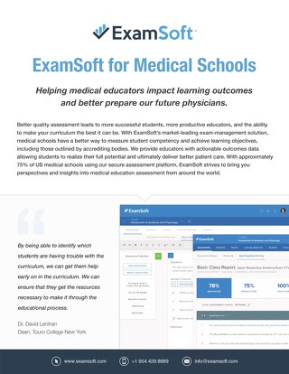 ExamSoft for Medical Schools (International)