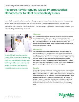Healthcare: Global Pharmaceutical Supplier