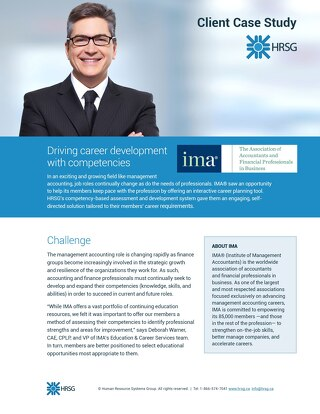 Driving career development with competencies