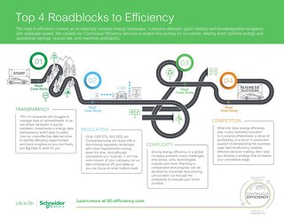 Top 4 Roadblocks to Efficiency
