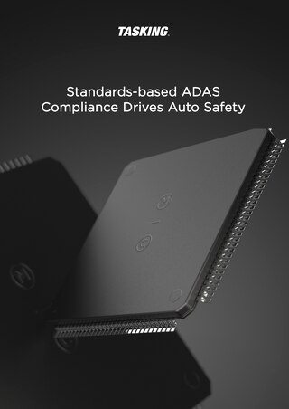 Standards-based ADAS Compliance Drives Auto Safety