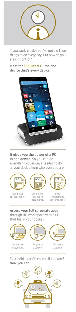 [Infographic] HP Elite X3: See the Power of the Elite X3