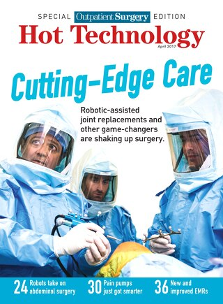 Special Outpatient Surgery Edition - Hot Technology - April 2017