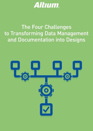 The 4 Challenges to Transforming Data Management and Documentation into Designs