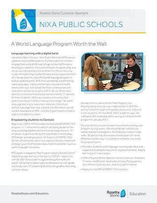 Nixa Public Schools Customer Spotlight
