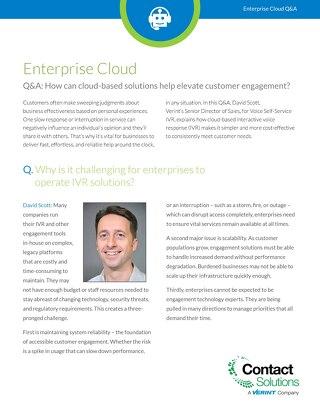 Why Enterprise Cloud Q and A