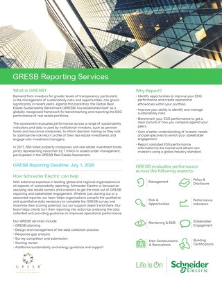 Reporting to GRESB