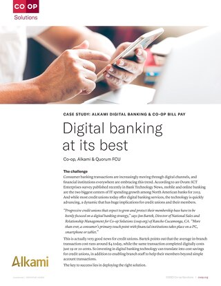 Digital Banking Case Study Quorum FCU