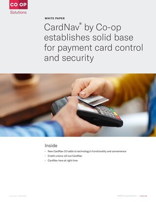 CardNav Whitepaper Card Control and Security