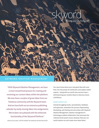 Skyword Ideation Management