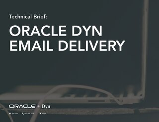 Technical Overview: Dyn Email Delivery