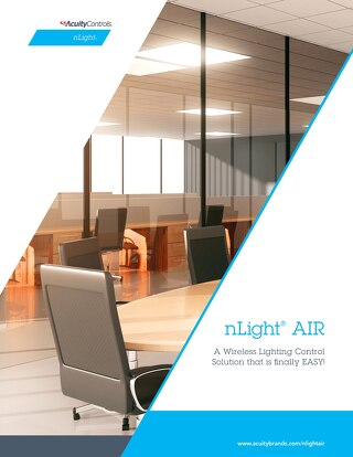 nLight AIR Wireless Lighting Control Solution