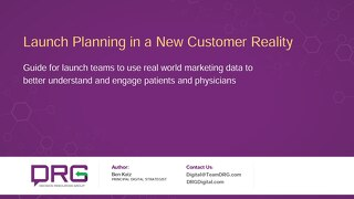 Launch Planning in a New Customer Reality