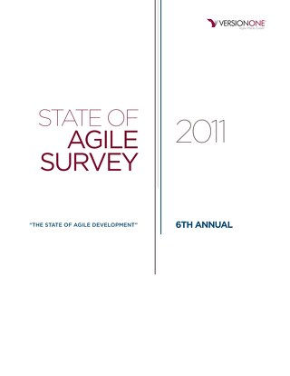 6th Annual State of Agile Report