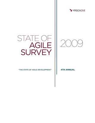 4th Annual State of Agile Report