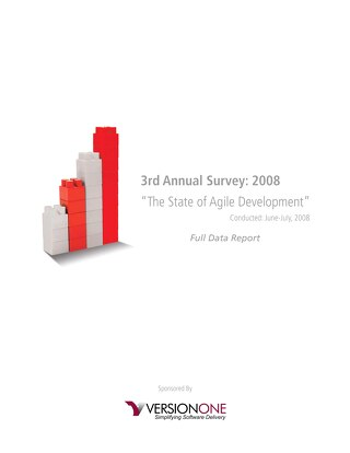 3rd Annual State of Agile Report