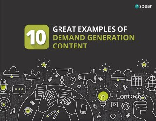 10 Examples Demand Gen Content eBook
