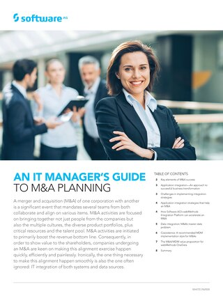 An IT manager's guide to M&A planning