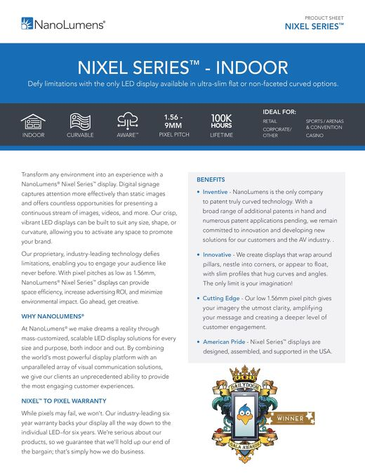 Nixel Series™ Indoor