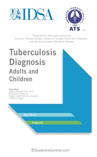 Diagnosis of Tuberculosis