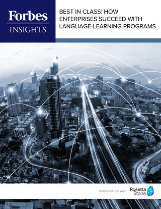 Forbes Insights | Best in Class: How Enterprises Succeed With Language Learning Programs