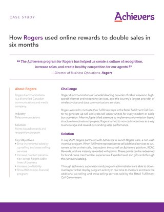 Rogers - Achievers Customer Story