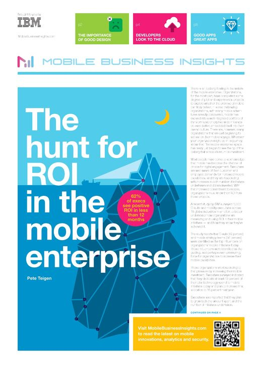 IBM Mobile Business Insights Printed Publication