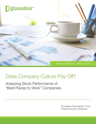 Does Company Culture Pay Off? - Glassdoor