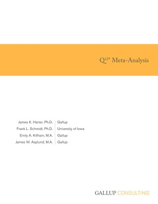 Gallup Q12 Meta Analysis