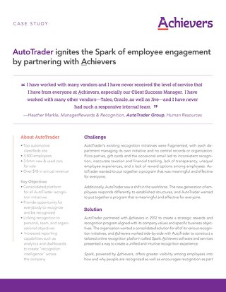 AutoTrader Customer Success Story