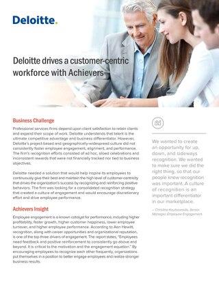 Deloitte Customer Success Story