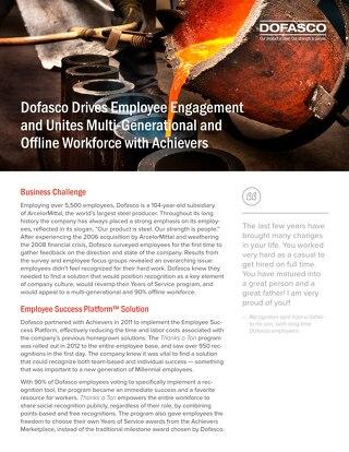 Dofasco Customer Success Story