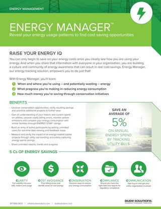 Energy Manager Datasheet