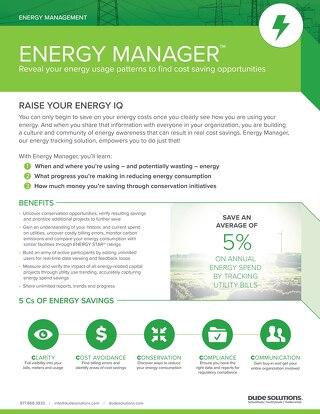 Energy Manager Datasheet