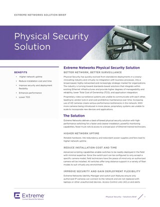 Physical Security Solution