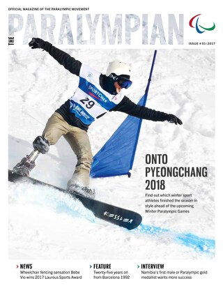 The Paralympian Issue No. 1 2017